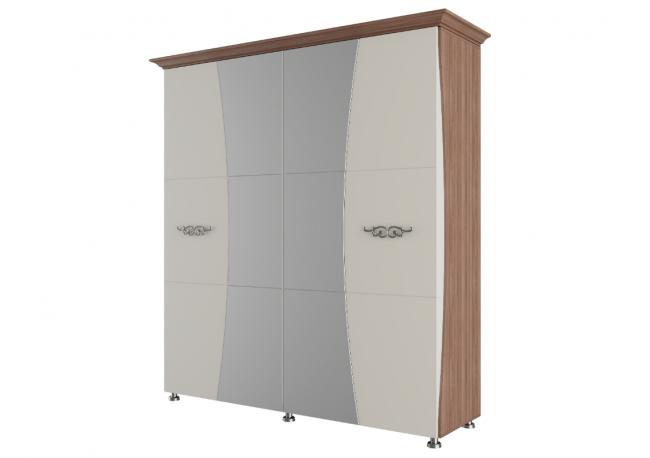 «Лагуна 7» Шкаф для платья и белья Четырехстворчатый (2,0м)