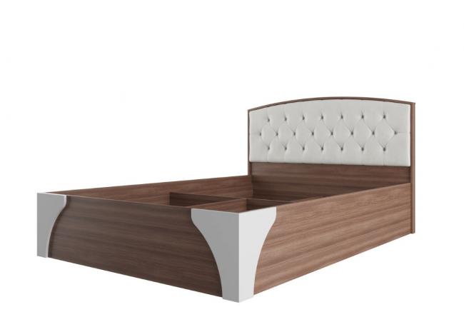 «Лагуна 7» Кровать двойная (универсальная 1,6*2,0) с пуговицами