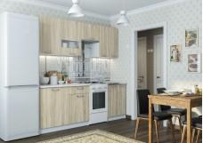 Кухонный гарнитур «Розалия» 1,7 м Белый/Дуб Сонома