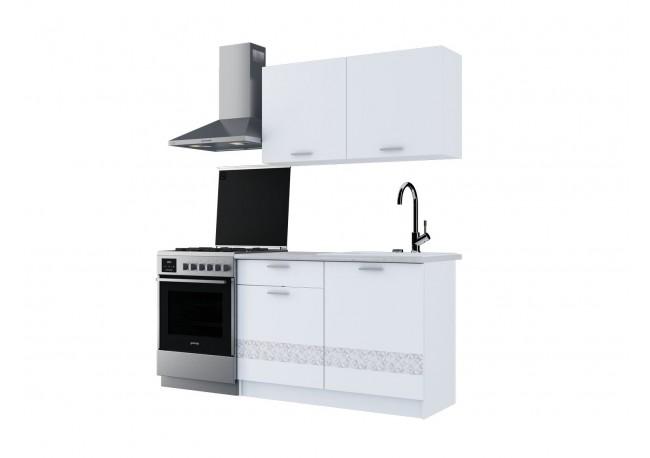 """Кухонный гарнитур """"Джаз"""" (1200) Белый"""