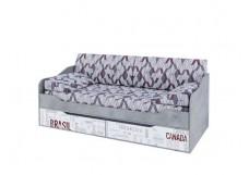 """""""Грей"""" Кровать-диван с ящиками (0,9*2,0)"""